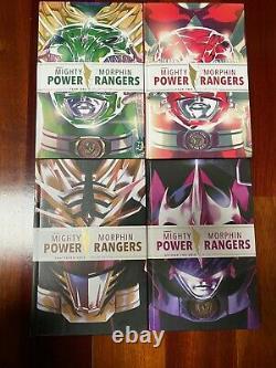 Mighty Morphin Power Rangers Deluxe Couverture Rigide Lot Ensemble Année Un Boom De Deux Grilles