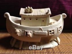 $ Moments Precieux Noahs Ark Deux 2 Par 2 Lot 11 Piece Set 2 X 2 Objets De Collection