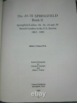 Nos Two Book Set Of The 45-70 Springfield Trapdoor Par Al Frasca