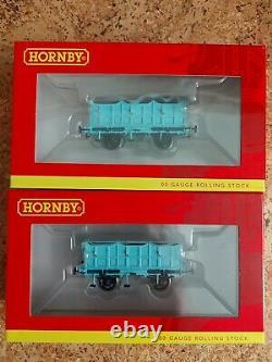 Nouveau Hornby R3810 Stephenson's Rocket Train Pack + Two L&mr Coaches R40141 Set 2