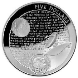 Nouveau Ra Mint 50e Anniversaire De L'alunissage Deux Set Coin