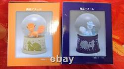 Pokemon Center Globe De Neige Original Dome Alola Vulpix Rokon Ensemble De Deux Nouveaux F/s