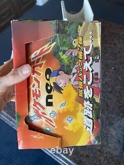 Pokémon Japonais Neo Ente Ensemble De Deux Boîtes De Rappel Videsrare