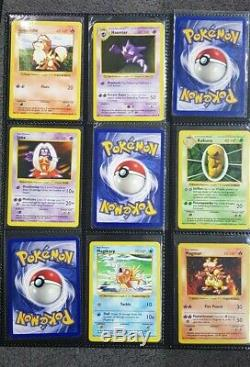 Pokemon Shadowless Base Complète Ensemble 102/102 Plus Deux Supplémentaires 104/102