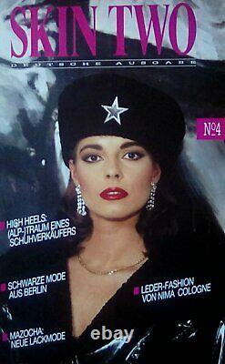 Rare Full Set German Skin Two Magazine Art Latex Fashion Issues 1 To 7 B4 Size