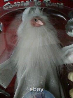 Santa Claus Coming Comin To Town Winter Warlock Memory Lane Ensemble De Deux Dans La Boîte