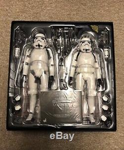 Sideshow Hot Toys Stormtroopers Deux Set Nouveau