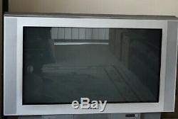 Sony Tv Couleur Kv-36fs70 / U, Cru, Avec Deux Haut-parleurs Et Le Manuel