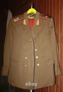Soviet Urss Deux Ensembles Général Général Général Uniforme Quotidien 1975,78 Tuniques Pants Ordre