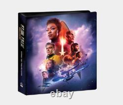 Star Trek Discovery Saison Deux Mini-master Set Avec 2 Autographes, Binder, 9 Sets