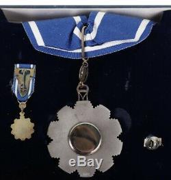 Sud-soudan Ordre Des Deux Niles Complete Set Badge Cou Sein Médaille Étoile