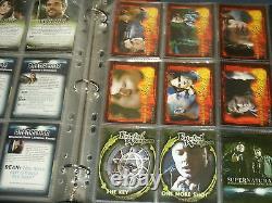 Supernatural Saison Two'mini-master Set' Trading Card Binder, Base Set & Plus