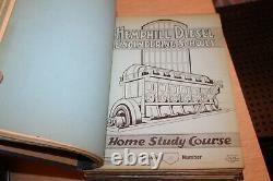 The Hemphill Diesel Engineering Schools Notes Verbales Et Croquis Lot Ensemble De Deux