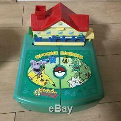 Tomy Pokemon Chibi Poke Maison Deluxe Type Deux Compactset Monde Jouet Japon Utilisé