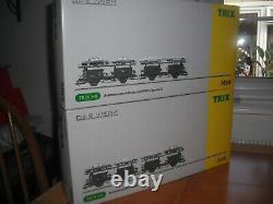 Trix Das Werk Db Autotransporteur Wagons (deux Ensembles)
