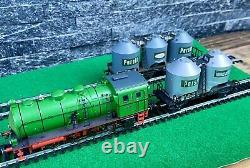 Trix Ho/h0 21217 Ensemble De Trains Henkel Locomotive À Vapeur Plus Deux Wagons-citernes
