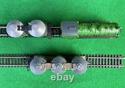 Trix Ho/h0 21217 Henkel Train Set Locomotive À Vapeur Plus Deux Wagons-citernes
