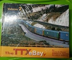 Ttx Histoire En Deux Volumes Set Bande-train Prrths Epuises