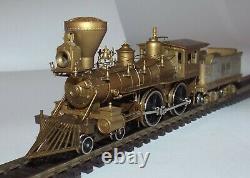 United Models Ho Scale Golden Spike Centennial Two Brass Locomotives Set