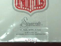 Vintage 1963 Stancraft NFL Cartes À Jouer All-time Greats Deux Plate-forme Ensemble Tout Neuf