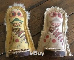 Vintage Aafa Deux Carnival Knockdown Punk Cat Dolls Rack Jeu Clown Set