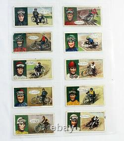 Vintage Motorcycle Racing Trade Card Sets 1920's Two Sets