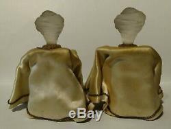 Vintage Prince-douka Marquay Turban Set Man Of Deux Bouteilles De Parfum