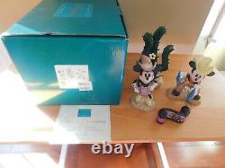 Wdcc Disney Classics Two Gun Mickey Color Set 70th Anniversary Set/title Reel