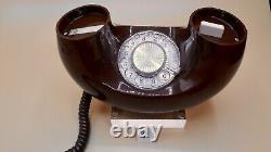 Western Electric De Bell Vintage Téléphone Rotary Et Push Système Ensemble De Deux (2)