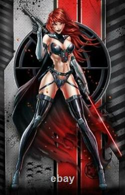 White Widow N ° 1 Mai Le 4ème Star Wars Exclusif Set Two Virgin Metal (nm)