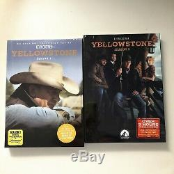 Yellowstone Saison 1-2 (dvd, 9-disc Set) One Two Brand New Collection
